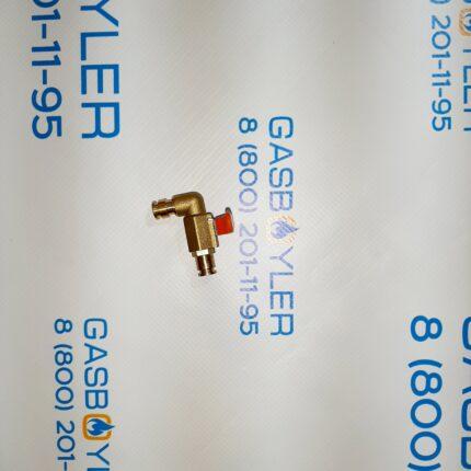 Кран заполнения системы отопления (подпитки) HANDLE TYPE для котлов Altoen Daewoo Gasboiler 100-200 ICH 250-300 KFC