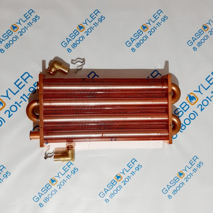 Основной (первичный) теплообменник 147 fin для котлов Daewoo Gasboiler 350-400 MSC
