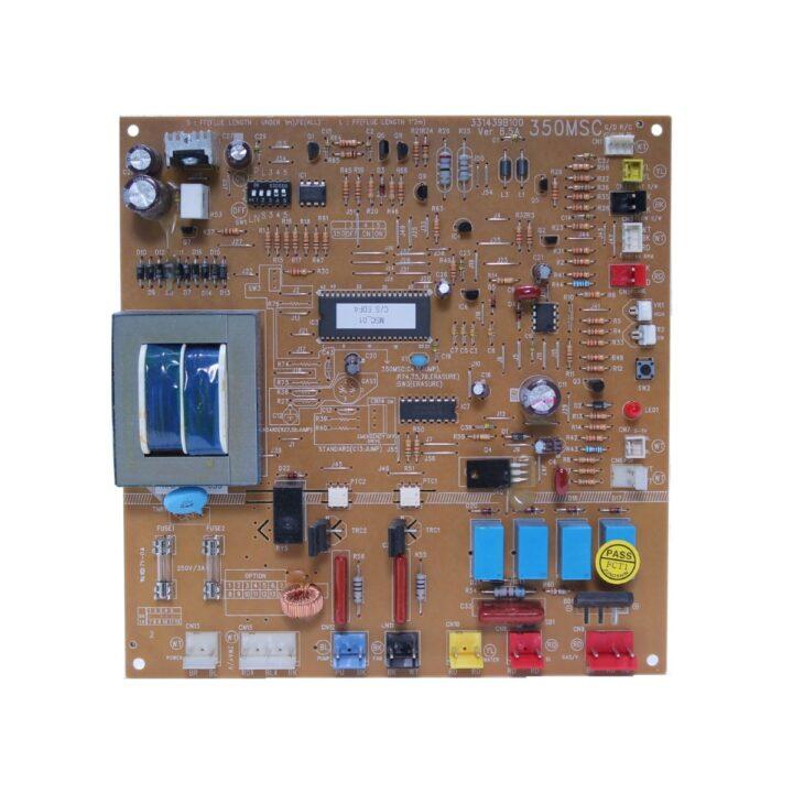 Блок (плата) управления модель 350 MSC для котлов Daewoo Gasboiler