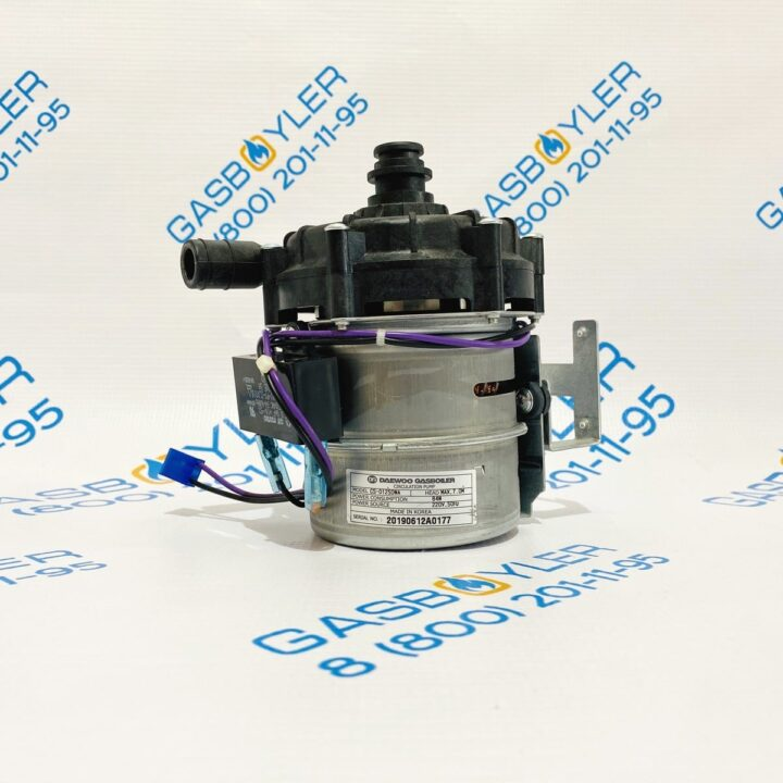 Циркуляционный насос CS-0125 DWA для котлов Daewoo Gasboiler 350-400 MSC