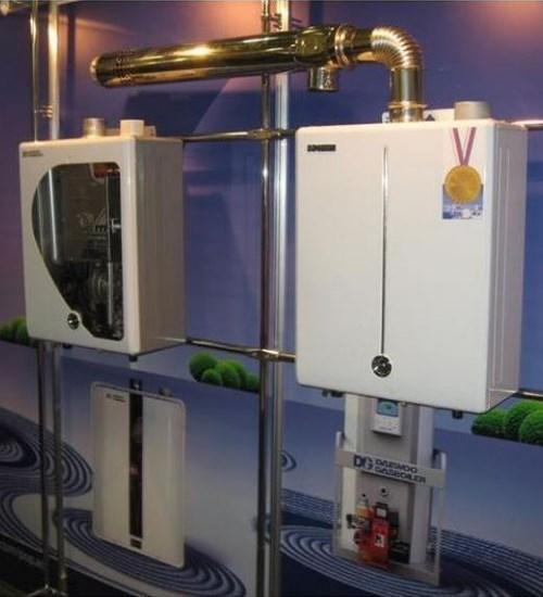 Газовый котел Altoen Daewoo (Gasboiler) DGB - 100 MSC (ДЭУ Газбойлер)
