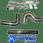 Дымоходы и комплектующие для газовых котлов Daewoo Gasboiler (ДЭУ Газбойлер)