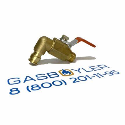 Кран заполнения системы отопления (подпитки) HANDLE TYPE для котлов Altoen Daewoo Gasboiler 350-400 MSC
