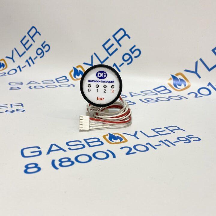 Манометр 1-4 BAR (LED TYPE) для газовых котлов Altoen Daewoo Gasboiler DGB 100-400 MSC 110-250 MCF