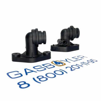 Комплект ниппелей (ГВС и подачи) для газовых котлов Altoen Daewoo Gasboiler DGB 350-400