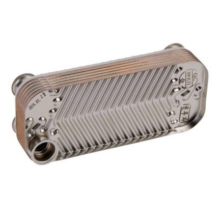 Теплообменник ГВС 12 fin для котлов Daewoo Gasboiler 100/130/160/200 ICH