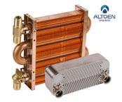 Теплообменники для газовых котлов Altoen Daewoo Gasboiler