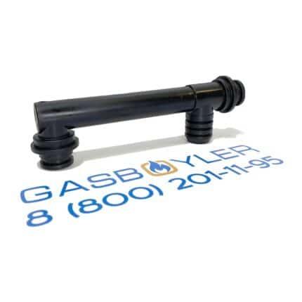 Верхняя труба возврата ГВС ZYTEL для газовых котлов Altoen Daewoo Gasboiler DGB 100-200 MSC