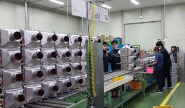 Производство газовых котлов на заводе Altoen Daewoo GasBoiler (ДЭУ Газбойлер)